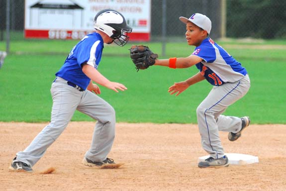 Rain Hinders Minor Tourney