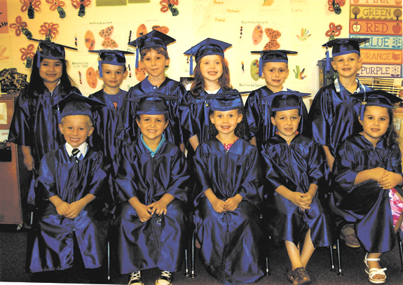 <i>Class of 2013 at Kids Corner</i>