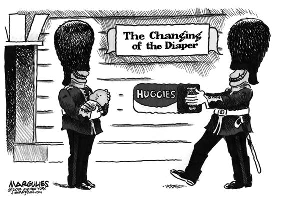 Editorial Cartoon: Royal Baby
