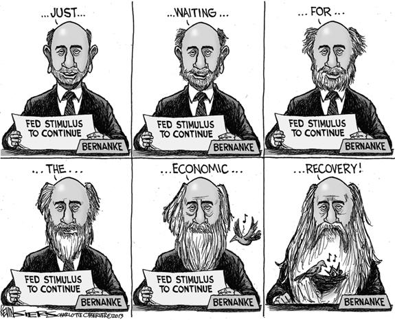 Editorial Cartoon: Recovery