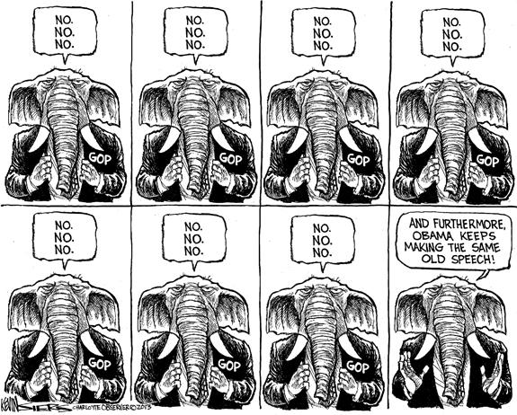 Editorial Cartoon: No