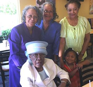 <i>Local woman celebrates 99th birthday!</i>