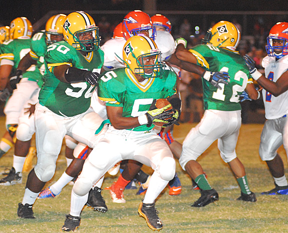 Bunn Outlasts Louisburg