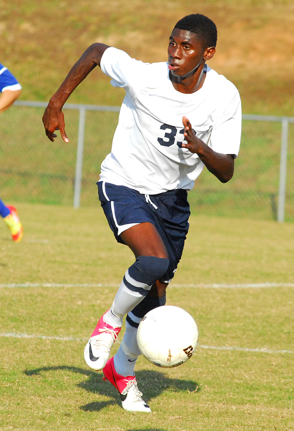 LC earns a victory in soccer