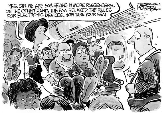 Editorial Cartoon: FAA