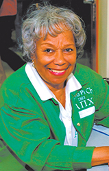 <i>Local woman honored as an 'unsung hero'</i>