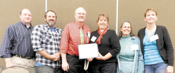 <i> County's Martha Mobley is 'agent, educator of year'</i>