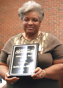 <i>Arts Council honors two as 'Artists of the Year'</i>