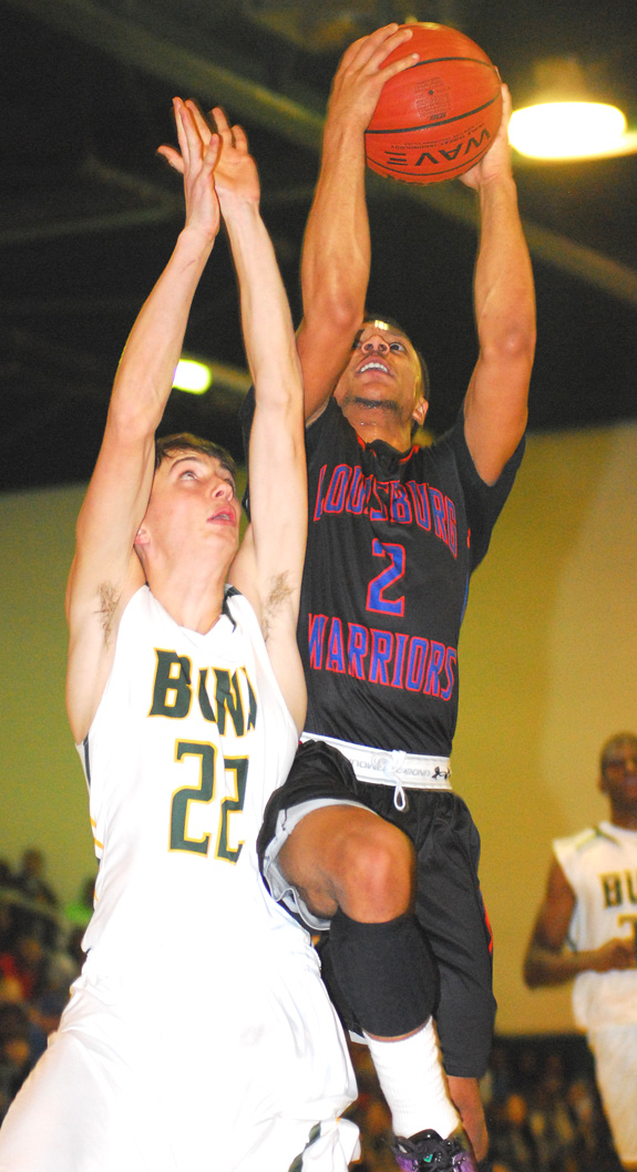 Bunn surges past LHS on hardwood