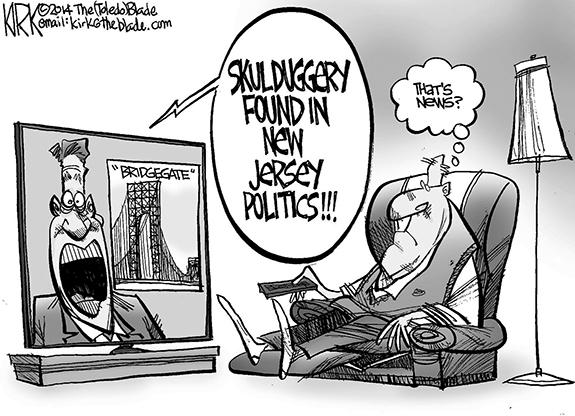 Editorial Cartoon: Bridgegate