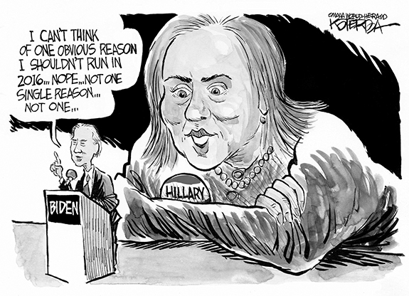Editorial Cartoon: Hillary