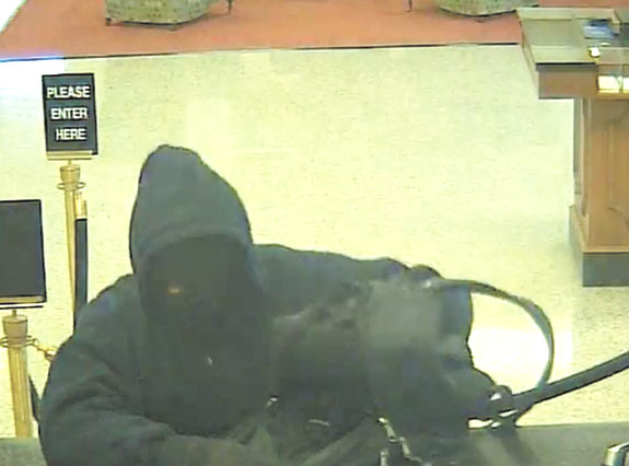 Franklinton bank targeted by robber