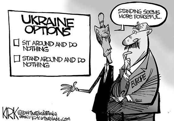Editorial Cartoon: Options
