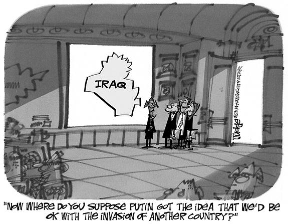 Editorial Cartoon: Invasion
