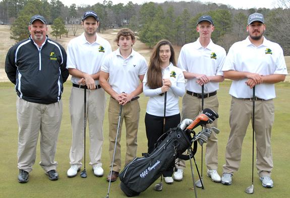 Vanguards begin golf season