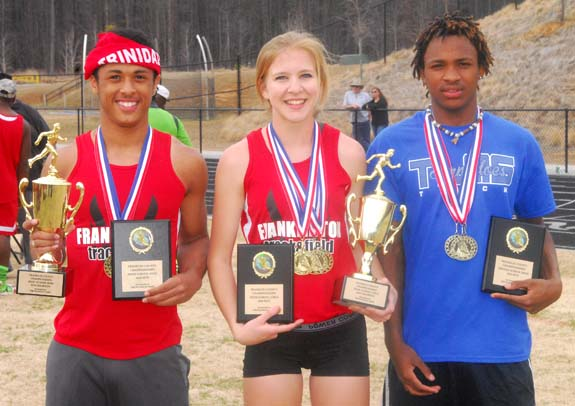 THE FRANKLIN TIMES TRACK MEET HEROES, 1