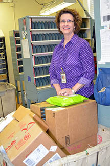 <i>Louisburg postmaster puts her 'stamp' on retirement</i>