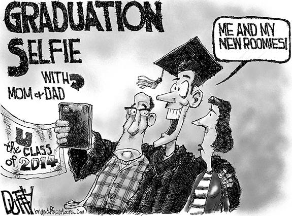 Editorial Cartoon: Graduation