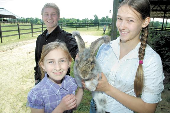 <i>4-H event showcases kids' knowledge of animals</i>