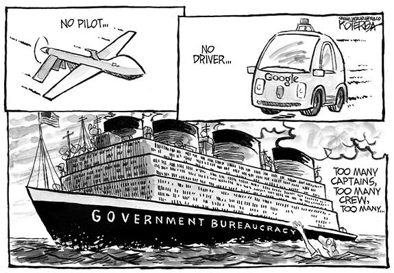 Editorial Cartoon: Bureaucracy
