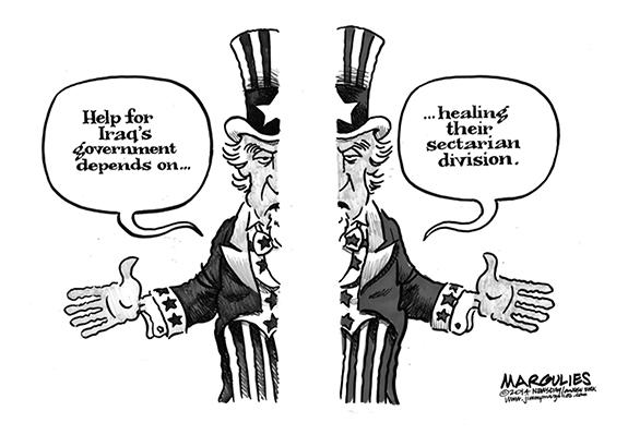 Editorial Cartoon: Iraq