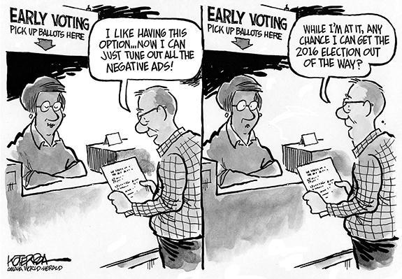 Editorial Cartoon: Election