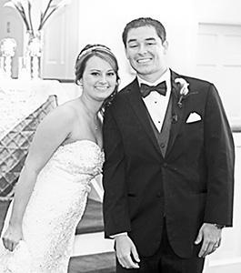Church ceremony unites couple