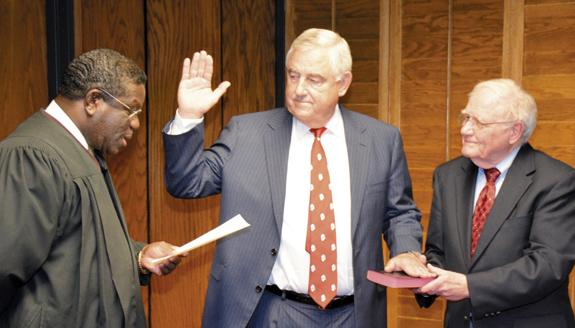 VGCC board welcomes new member, accepts check