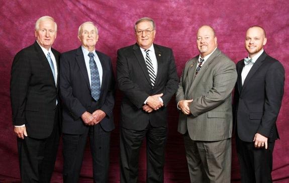 LOCAL CONTINGENT HONORED