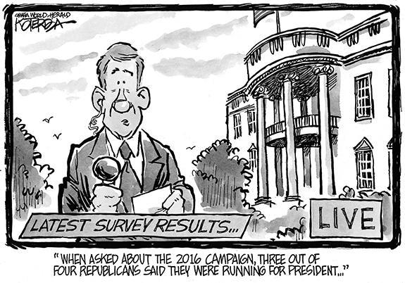 Editorial Cartoon: Presidential