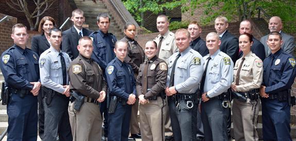 16 complete basic law enforcement class