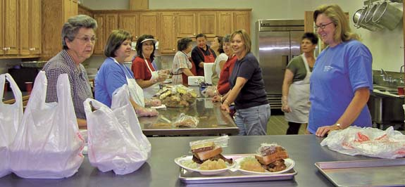 Maple Springs Baptist working off faith, family