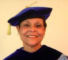 Bobbie Richardson earns doctorate degree