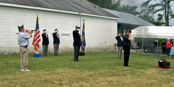 <i>Disposing of U.S. flags with honor</i>