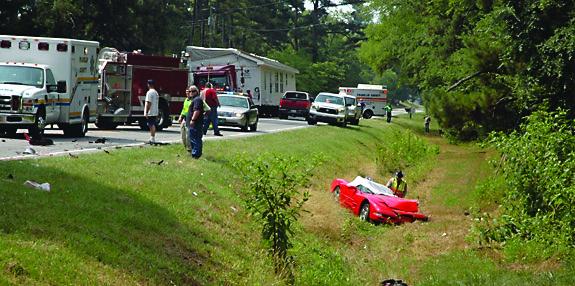 Breaking News! Two Die in Head-on Wreck on 401 Hwy