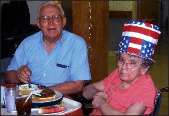 Seniors find center, Manor rewarding; lots of fun together