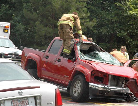 Crash prompts concerns