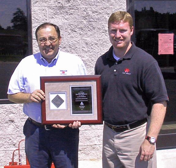Louisburg Tractor recognized