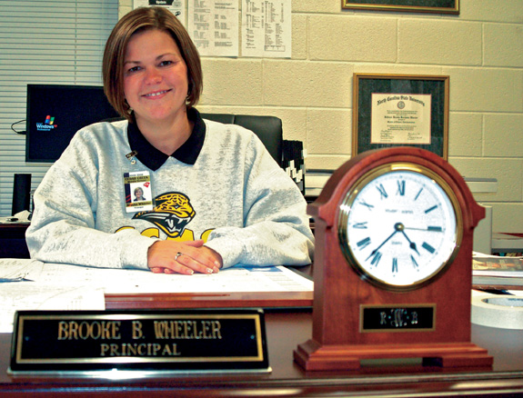 Wheeler named Franklin County Schools Principal of the Year
