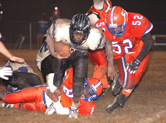 Louisburg Takes Trask To Task
