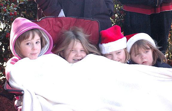 Here Comes Santa Claus: Franklin Christmas Parade