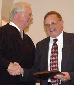 Judge Wilkinson honored
