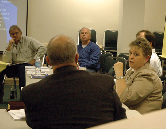 County Commissioners: no new taxes, hopefully