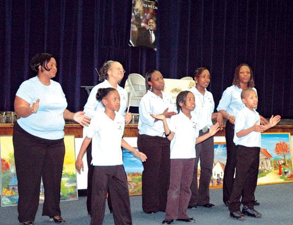 Franklin county Celebrates Black History month