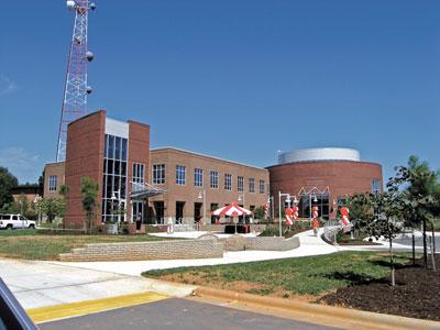 NCSU�s E. Carroll Joyner Visitor Center dedicated
