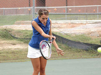 Louisburg wraps up TRAC�s girls tennis crown