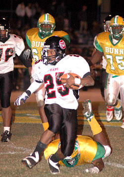 Bunn Shuts Out Franklinton