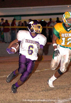 Bunn Slides Past Tarboro