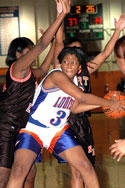 <FONT SIZE=4>A Breeze In TRAC</font><br>Lady Warriors have no problem with NE