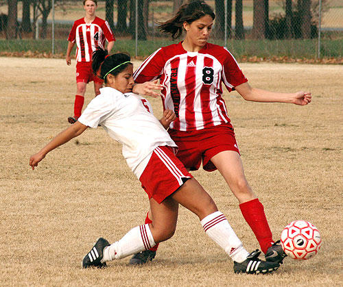 Young Lady Rams score another soccer conquest